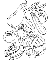 Small Picture Vegetable Coloring Pages Free Printable Coloring Pages