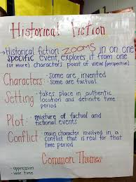 Historical Fiction Anchor Chart Historical Fiction Anchor Chart For 5th Grade 4th Grade
