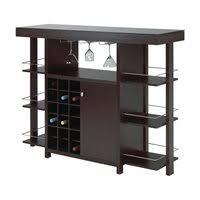 home mini bar furniture. 12532 Bar With Smoked Glass Top Home Mini Furniture