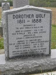 Dorothea Fink Wolf (1811-1888) - Find A Grave Memorial