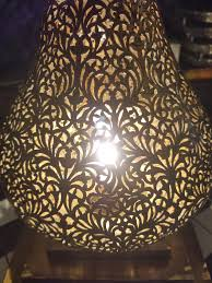 Moroccan Lights Name Intricate Moroccan Copper Lamp Or Lantern Table Lamp At 1stdibs