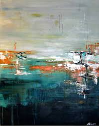 saatchi art artist angela bisson painting hope contemporary abstract painting with mid