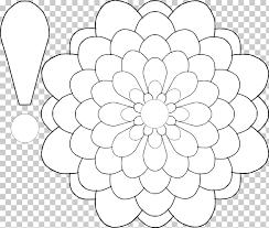 Paper Flower Petal Template Floral Design Paper Flower Petal Pattern Flower Petals Template Png