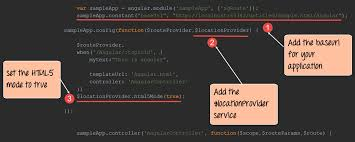 AngularJS Routing with Parameters: Single Page Application Example