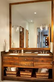 rustic modern bathroom vanities. Unique View In Gallery Modern Ski Chalet Beautiful Rustic Interiors Bath Bathroom Vanities G