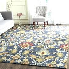 8 x 5 area rug 5 x area rugs dining room handmade blossom navy multi wool 8 x 5 area rug
