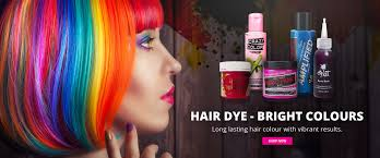 Hair Dye Bright Temporary Colour Products Shop Best Brands