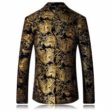 Basket Blazer Design Floral Blazer Men Jacket Suit Notched Lapel Stylish Blazer