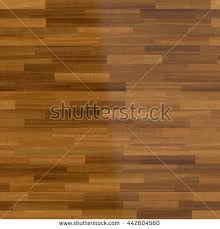 3 D Illustration Dark Wood Parquet Floor Stock Illustration