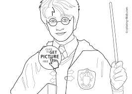 Harry Potter Coloring Pages And Book At Page Viettiinfo