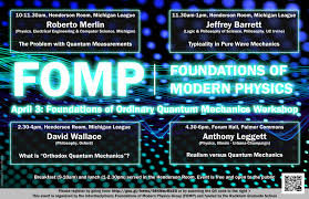 foundations of modern physics working group
