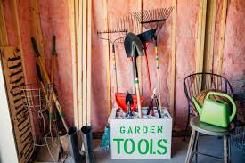 4 garden tool storage ideas for a