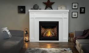gas fireplace with mantel empire by napoleon 7
