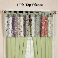 tab top valance. Wonderful Tab Blooming Prairie Tab Top Valance Multi Cool 84 X 21 And E