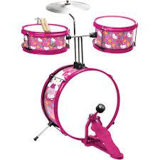 bcp 11 piece kids starter drum set w bass drum tom drums snare cymbal stool drumsticks black com