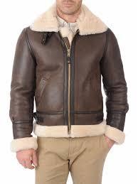 men s er brown leather jacket