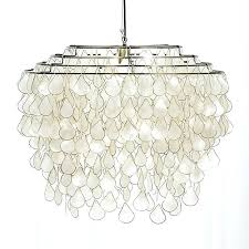round capiz chandelier gold west elm lighting best lamps images teardrops z gallerie