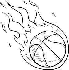 coloring pages of basketball.  Basketball Basketball Coloring Page Pages To Print And Of