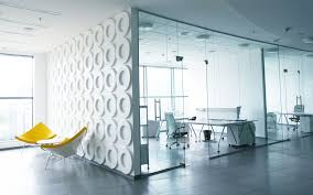 modern office design. Magnificent Two Rooms With Screen Glass Door Ideas At Modern Office Design