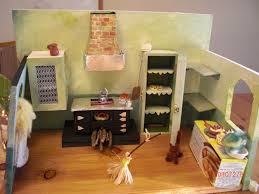 Miniature Dollhouse Kitchen Furniture Cinderellas Handmade Miniature Kitchen Castle Of Costa Mesa