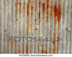 Rusted corrugated metal fence Metal Horizontal Rusty Corrugated Iron Metal Fence Close Up Zinc Wall Rugs Ideas Stock Illustrations Of Rusty Corrugated Iron Metal Fence K9105000