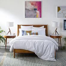 Modern bedroom furniture Dark Brown Price Range Yliving Midcentury Modern Furniture West Elm