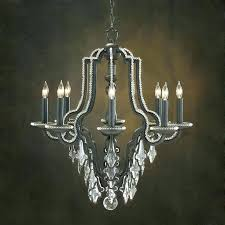 john richard chandelier full image for lighting chandeliers 8 light black quatrefoil shaded