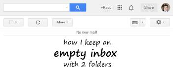 Empty inbox Emails Empty Inbox Youtube How Keep An Empty Inbox With Folders Radu Popa