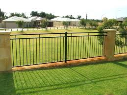 metal fence ideas.  Ideas Modern Wood And Metal Fence Designs  Home Ideas For Metal Fence Ideas