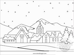 Paesaggi Da Colorare Scuola Primaria Migliori Pagine Da Colorare