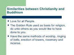 Buddhism And Christianity Venn Diagram Comparing 3 Major Religions