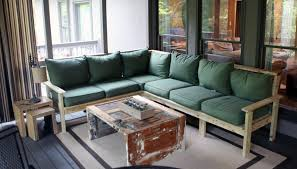 amazing diy sectional sofa with how to make an outdoor sectional i like to make stuff