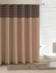 details about gold leopard bathroom set 15 piece soft thick rugs shower curtain ceramic hooks