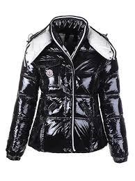 womens moncler black mock collar jackets new zealand 6263not