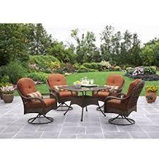 patio dining set 5 piece outdoor