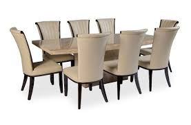 8 chair dining room set tables with chairs on in round