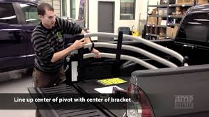 AMP Research BedXTender™ HD Install for Toyota Tacoma - YouTube