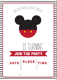 invitation t mickey invitation template cool mickey mouse templates for