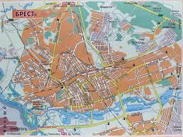 Карта Бреста Скачать карту Бреста Карта центра Бреста  Карта Бреста Скачать карту Бреста Экскурсии по Бресту Фото Картинка