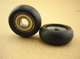 8 32 12mm plastic nylon pulley furniture sliding doors wheels barn door hardware set and accessories