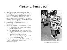 plessy vs ferguson summary essay the rise and fall of jim crow  plessy vs ferguson summary essay