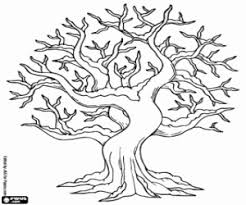 Small Picture Tree coloring pages printable games