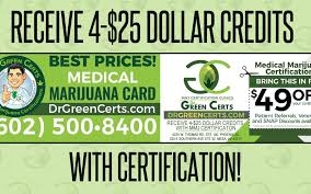 dr green certs mmj certification deal