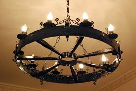 cute wrought iron chandeliers