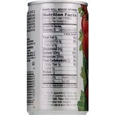 v8 original vegetable juice 5 5 oz