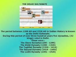 Image Result For Delhi Sultanate Rulers Timeline In 2019