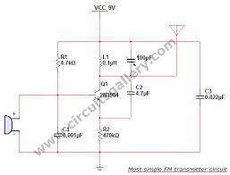 fm transmitter circuit page 7 rf circuits next gr Wiring Schematic Diagram 200m Fm Transmitter Simple Circuit most simple fm transmitter circuit diagram