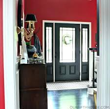 how to paint front door black should i paint front door black color design doors coloring