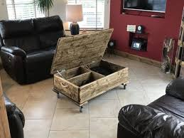 coffee table storage chest from