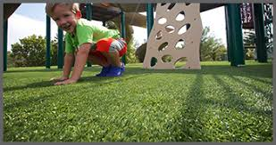 artificial turf yard. PLAY AREAS Artificial Turf Yard